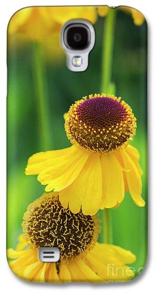 Helenium Riverton Beauty Flowers Galaxy S4 Case
