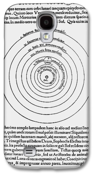 Heliocentric Universe, Copernicus, 1543 Galaxy S4 Case