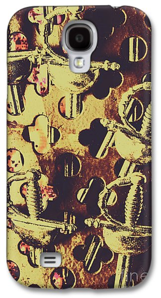 Helm Of Antique War Galaxy S4 Case by Jorgo Photography - Wall Art Gallery