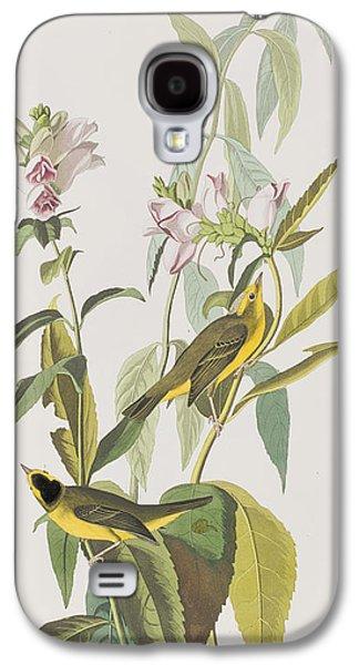 Warbler Galaxy S4 Case - Hemlock Warbler by John James Audubon