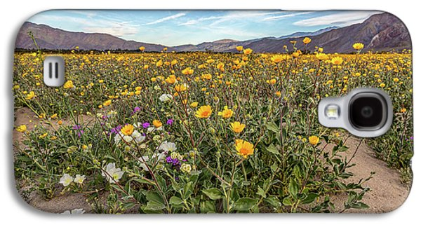 Henderson Canyon Super Bloom Galaxy S4 Case by Peter Tellone