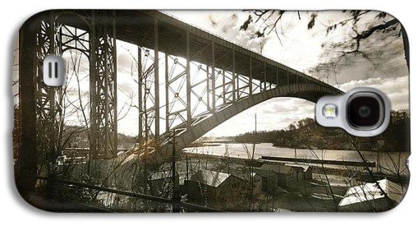 Henry Hudson Bridge, 1936 Galaxy S4 Case by Cole Thompson