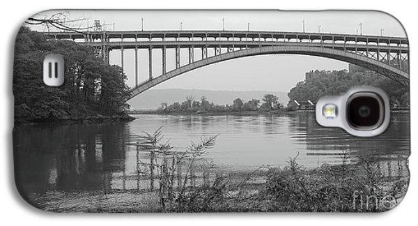Henry Hudson Bridge  Galaxy S4 Case by Cole Thompson