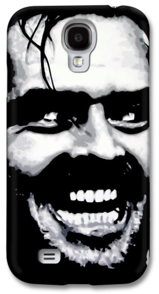 Jack Nicholson Galaxy S4 Case - Heres Johnny by Hood alias Ludzska