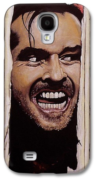 Here's Johnny Galaxy S4 Case by Tom Carlton