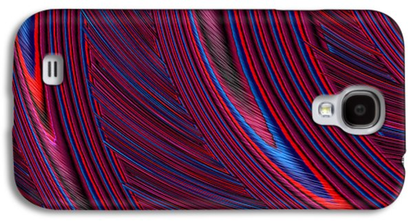 Herl In Red And Blue Galaxy S4 Case