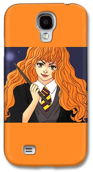 Hermione Granger  Galaxy S4 Case by Jennifer Campbell
