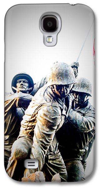 Washington D.c Galaxy S4 Case - Heroes by Julie Niemela