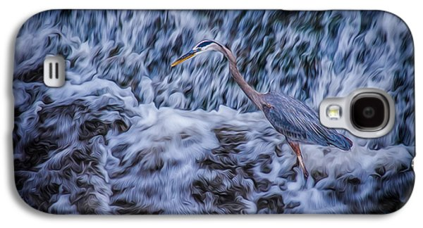 Galaxy S4 Case featuring the photograph Heron Falls by Rikk Flohr