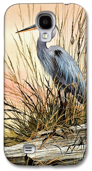 Heron Sunset Galaxy S4 Case by James Williamson