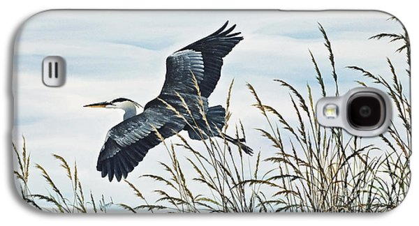 Herons Flight Galaxy S4 Case by James Williamson