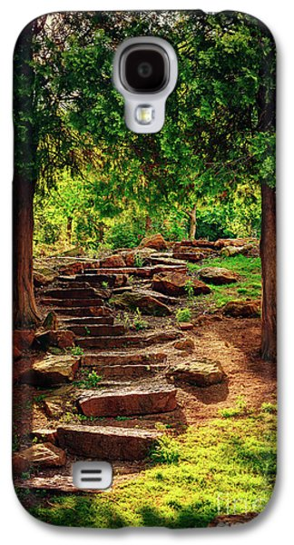 Galaxy S4 Case - Hidden Path At Honor Heights Park by Tamyra Ayles