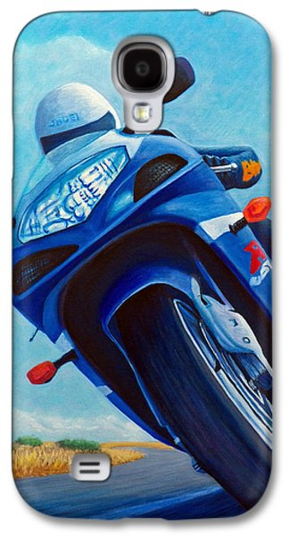 High Desert Pass - Suzuki Gsxr1000 Galaxy S4 Case by Brian  Commerford