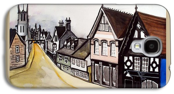 High Street Of Stamford In England Galaxy S4 Case