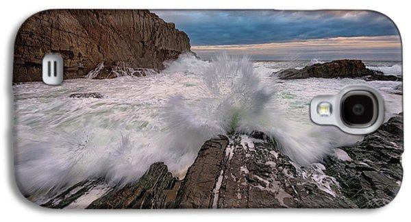 High Tide At Bald Head Cliff Galaxy S4 Case by Rick Berk