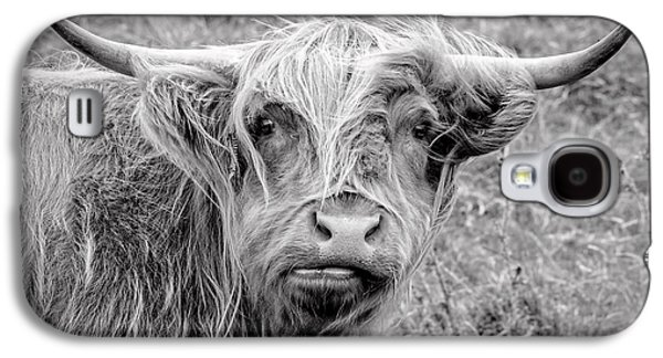 Highland Cow Galaxy S4 Case