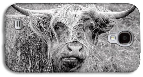Highland Cow Galaxy S4 Case