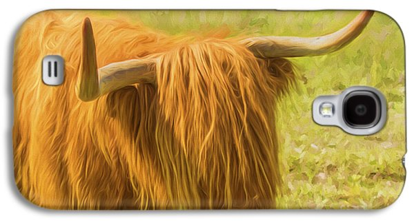 Highland Cow Galaxy S4 Case by Veikko Suikkanen