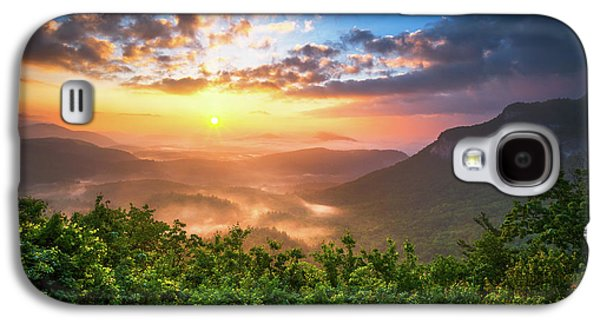 Highlands Sunrise - Whitesides Mountain In Highlands Nc Galaxy S4 Case