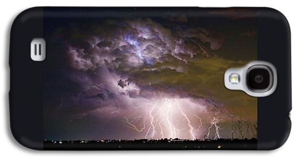 Highway 52 Storm Cell - Two And Half Minutes Lightning Strikes Galaxy S4 Case