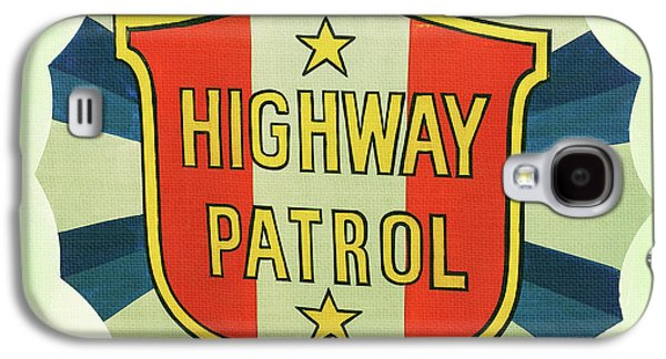 Highway Patrol Galaxy S4 Case by Nina Prommer