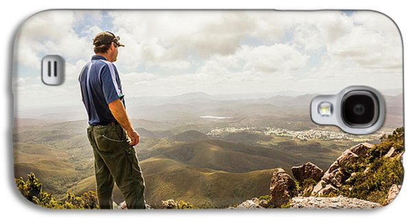 Hiking Australia Galaxy S4 Case by Jorgo Photography - Wall Art Gallery