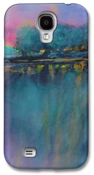 Hill Country Abstract No 5 Galaxy S4 Case by Virgil Carter