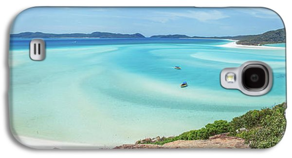 Hill Inlet Lookout Galaxy S4 Case by Az Jackson