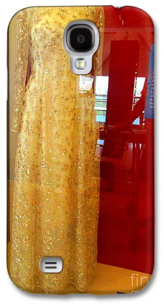 Hillary Clinton State Dinner Gown Galaxy S4 Case by Randall Weidner