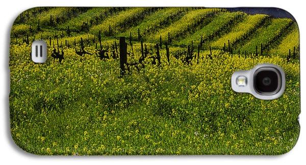 Hills Of Mustard Grass Galaxy S4 Case by Garry Gay