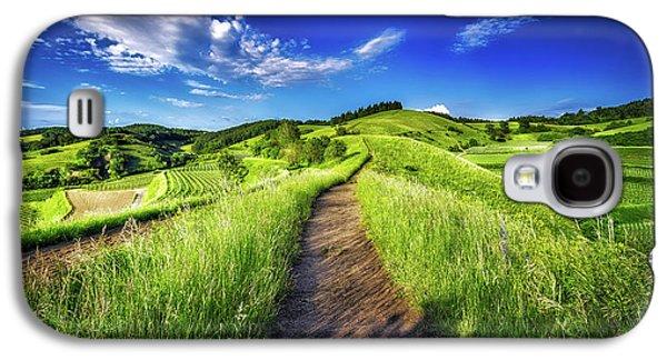 Hills Of Summer Galaxy S4 Case