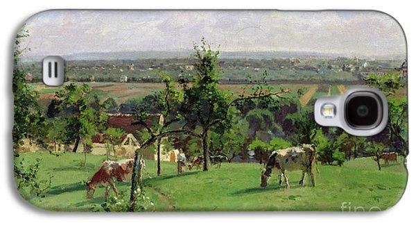 Hillside Of Vesinet Galaxy S4 Case by Camille Pissarro