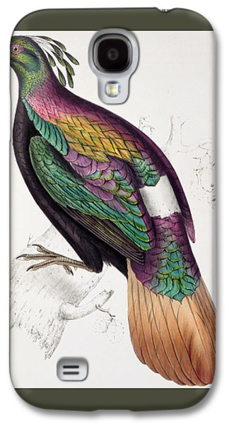 Himalayan Monal Pheasant Galaxy S4 Case by John Gould