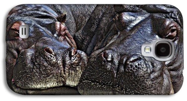Hippo Couple Galaxy S4 Case