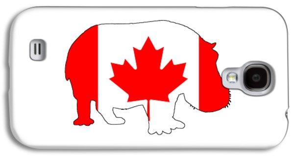 Hippopotamus Canada Galaxy S4 Case