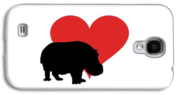 Hippopotamus Galaxy S4 Case