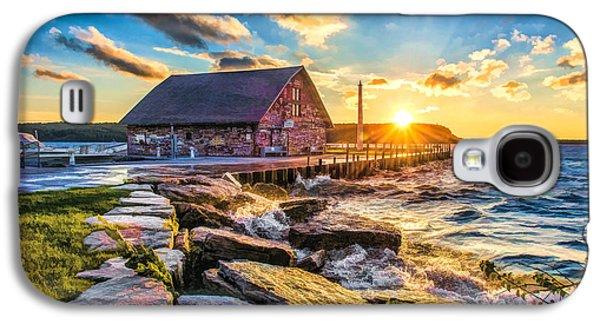 Historic Anderson Dock In Ephraim Door County Galaxy S4 Case by Christopher Arndt