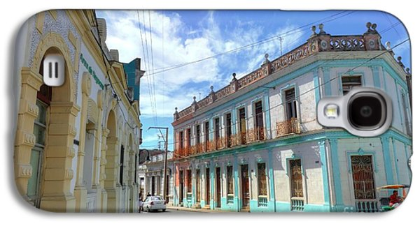 Historic Camaguey Cuba Prints 2 Galaxy S4 Case by Wayne Moran