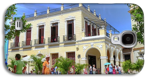 Historic Camaguey Cuba Prints Commercial Center 2 Galaxy S4 Case by Wayne Moran