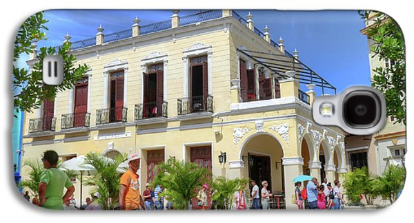 Historic Camaguey Cuba Prints Commercial Center 2 Galaxy S4 Case