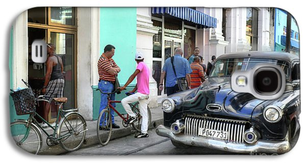 Historic Camaguey Cuba Prints The Cars 2 Galaxy S4 Case
