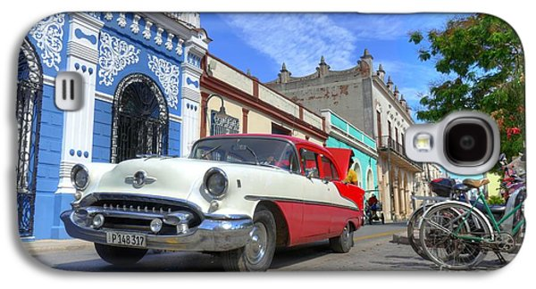 Historic Camaguey Cuba Prints The Cars Galaxy S4 Case