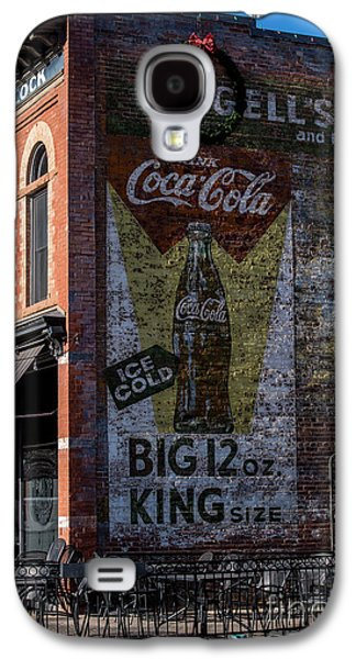 Historic Coca Cola Brick Ad - Fort Collins - Colorado Galaxy S4 Case by Gary Whitton