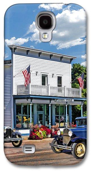 Historic Pioneer Store In Ellison Bay Door County Galaxy S4 Case by Christopher Arndt