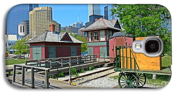 Historic Railway Site In Toronto Galaxy S4 Case by John Malone