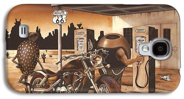 Martini Galaxy S4 Case - Historic Route 66 by Michael Godard