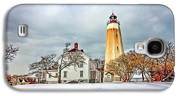 Historic Sandy Hook Lighthouse Galaxy S4 Case by Geraldine Scull