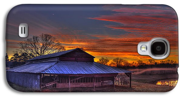 His Works Sunrise Galaxy S4 Case