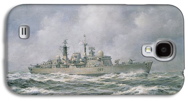 Hms Exeter Galaxy S4 Case by Richard Willis