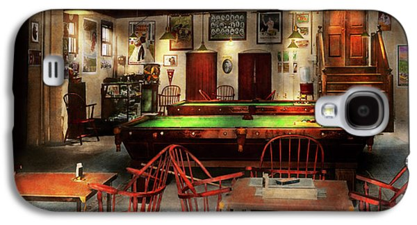 Hobby - Pool - The Billiards Club 1915 Galaxy S4 Case by Mike Savad